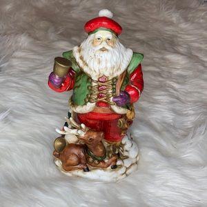 Glass Santa Claus Kris Kringle Christmas figurine